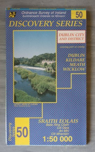 us topo - Dublin, Kildare, Meath and Wicklow (Irish Discovery Series) (English, French and German Edition) - Wide World Maps & MORE! - Book - Wide World Maps & MORE! - Wide World Maps & MORE!