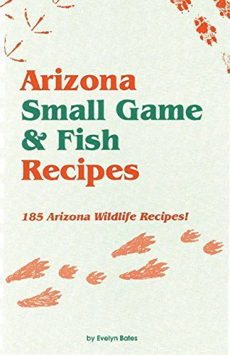 us topo - Arizona Small Game & Fish Recipes - Wide World Maps & MORE! - Book - Brand: Golden West Publishers - Wide World Maps & MORE!