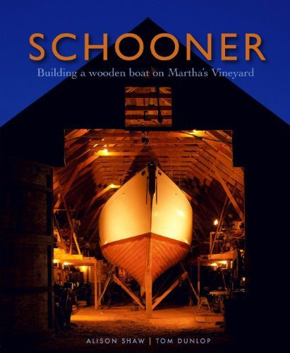 us topo - Schooner: Building a Wooden Boat on Martha's Vineyard - Wide World Maps & MORE! - Book - Brand: Vineyard Stories - Wide World Maps & MORE!