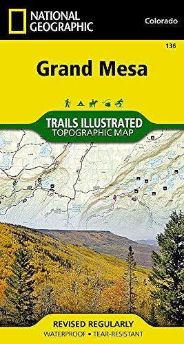 us topo - Grand Mesa (National Geographic Trails Illustrated Map) - Wide World Maps & MORE! - Book - Wide World Maps & MORE! - Wide World Maps & MORE!