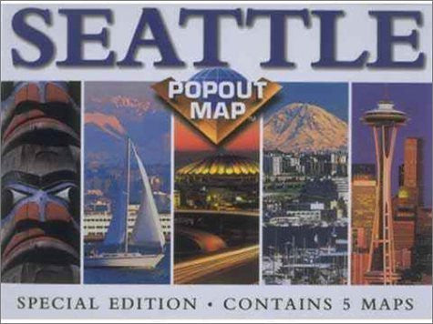 us topo - Popout-Popout Seattle (Popout Map) - Wide World Maps & MORE! - Book - Wide World Maps & MORE! - Wide World Maps & MORE!