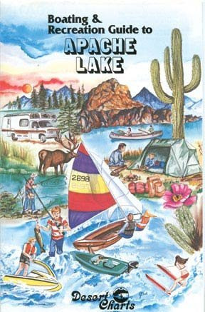 us topo - Boating & Recreation Guide to Apache Lake - Wide World Maps & MORE! - Book - Wide World Maps & MORE! - Wide World Maps & MORE!