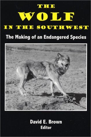 us topo - The Wolf in the Southwest: The Making of an Endangered Species - Wide World Maps & MORE! - Book - Brand: High Lonesome Books - Wide World Maps & MORE!
