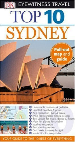 us topo - Top 10 Sydney (Eyewitness Top 10 Travel Guides) - Wide World Maps & MORE! - Book - Brand: DK Travel - Wide World Maps & MORE!