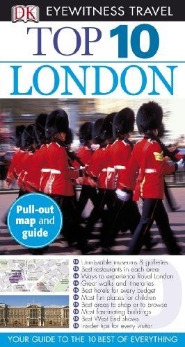 Top 10 London (Eyewitness Top 10 Travel Guides) - Wide World Maps & MORE! - Book - Brand: DK Travel - Wide World Maps & MORE!