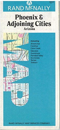 Phoenix & Adjoining Cities, Arizona - Wide World Maps & MORE! - Book - Wide World Maps & MORE! - Wide World Maps & MORE!