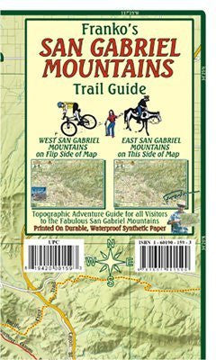 us topo - FRANKO MAPS MAP FML CA SAN GABRIEL MOUNTAINS - Wide World Maps & MORE! - Sports - Franko Maps - Wide World Maps & MORE!