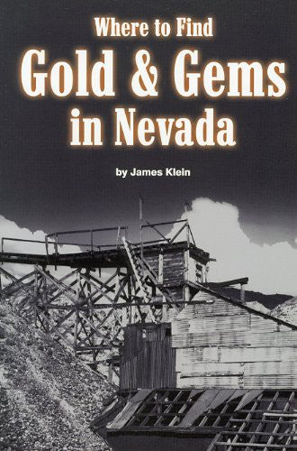 us topo - Where to Find Gold and Gems in Nevada - Wide World Maps & MORE! - Book - Brand: Gem Guides Book Co - Wide World Maps & MORE!