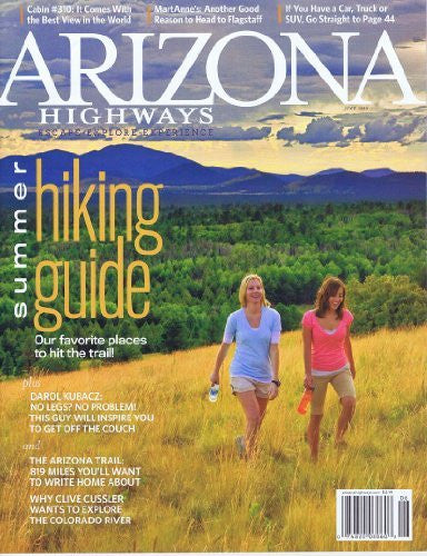 us topo - Arizona Highways June 2010 (summer hiking guide) - Wide World Maps & MORE! - Book - Wide World Maps & MORE! - Wide World Maps & MORE!