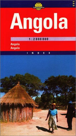 Angola Road & Travel Map by Cartographia (Cartographia World Travel Map)