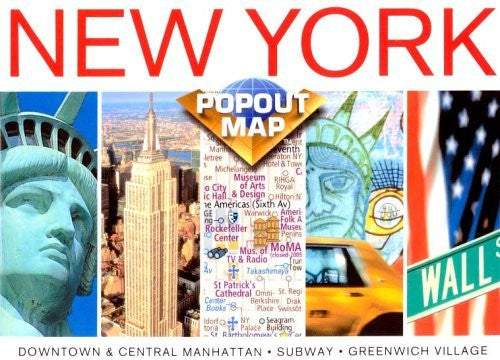 New York Popout Map, Double Edition