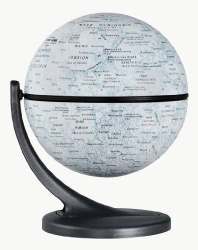 Replogle Moon 4.3 in. Wonder Tabletop Globe