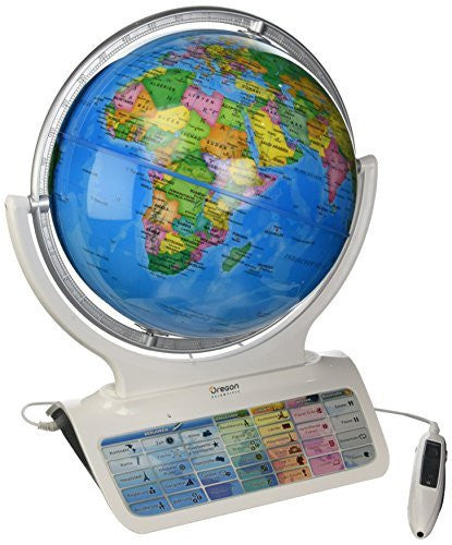 Oregon Scientific SG0218-12 Smart Globe Horizon - NEW - Retail - SG0218-12