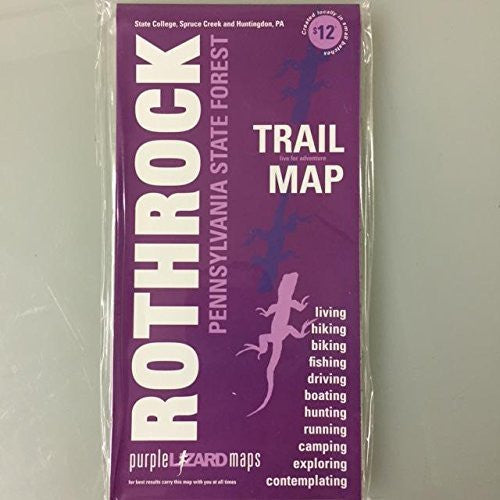Rothrock Trail Map: Pennsylvania State Forest