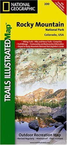 us topo - Rocky Mountain National Park Trail Map - Wide World Maps & MORE! - Book - Wide World Maps & MORE! - Wide World Maps & MORE!