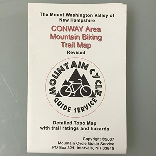 Conway Area Mountain Biking Trail Map
