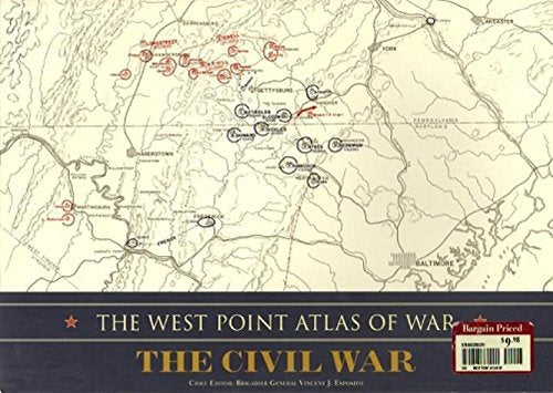 The West Point Atlas of War: The Civil War - Wide World Maps & MORE! - Book - Historical Books Tess Press - Wide World Maps & MORE!