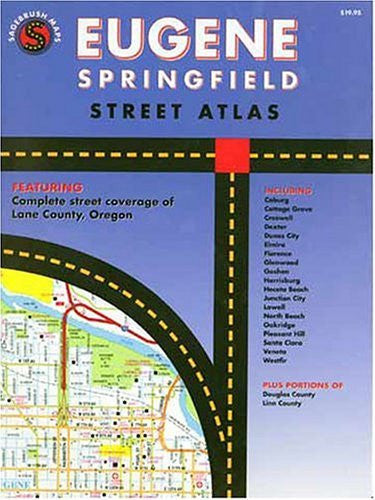 us topo - Eugene Springfield, Oregon: Street Atlas- GMJ - Wide World Maps & MORE! - Book - Sagebrush Maps - Wide World Maps & MORE!