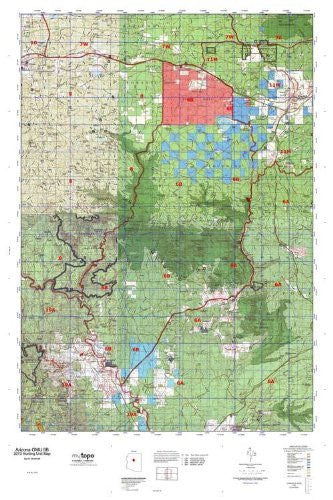 us topo - Arizona GMU 6B Hunt Area / Game Management Units (GMU) Map - Wide World Maps & MORE! - Book - Wide World Maps & MORE! - Wide World Maps & MORE!