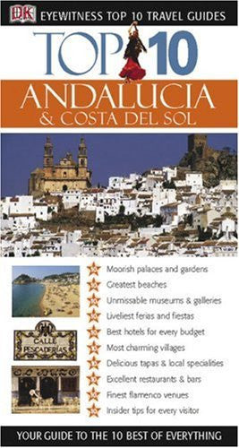 us topo - Top 10 Andalucia and Costa Del Sol (Eyewitness Top 10 Travel Guides) - Wide World Maps & MORE! - Book - Wide World Maps & MORE! - Wide World Maps & MORE!