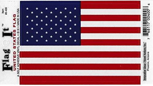 Vinyl Decal- United States Flag