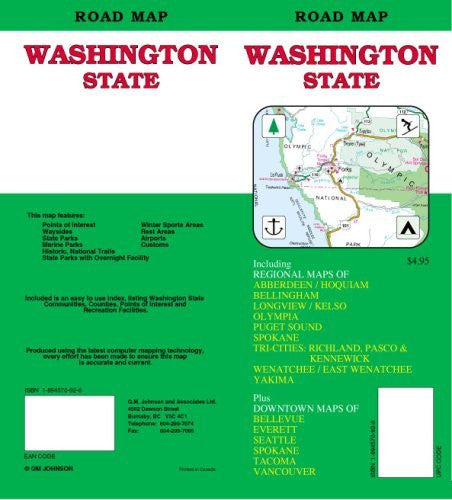 Washington State Road Map