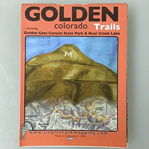 us topo - Golden Colorado Trails: Golden Gate Canyon State Park & Bear Creek Lake - Wide World Maps & MORE! - Book - Wide World Maps & MORE! - Wide World Maps & MORE!