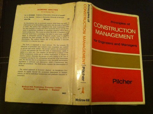 Principles of Construction Management for Engineers and Management