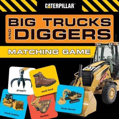 Big Trucks and Diggers Matching Game Big Trucks and Diggers Matching Game