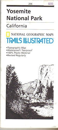 National Geographic, Trails Illustrated, Yosemite National Park: California, USA (Trails Illustrated - Topo Maps USA) - Wide World Maps & MORE! - Book - National Geographic - Wide World Maps & MORE!