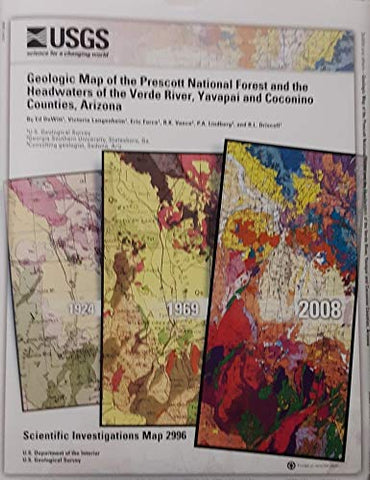 Geologic Map of the Prescott National Forest and the Headwaters of the Verde River