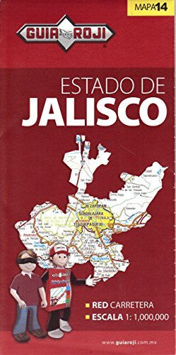 us topo - Estado de Jalisco - Wide World Maps & MORE! - Book - Wide World Maps & MORE! - Wide World Maps & MORE!