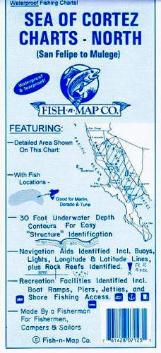 us topo - Sea Of Cortez North - Wide World Maps & MORE! - Sports - Fish-N-Map - Wide World Maps & MORE!
