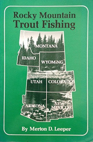 us topo - Rocky Mountain Trout Fishing - Wide World Maps & MORE! - Book - Brand: M. L. Publications - Wide World Maps & MORE!