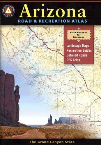 us topo - Arizona Road and Recreation Atlas - Wide World Maps & MORE! - Book - Wide World Maps & MORE! - Wide World Maps & MORE!