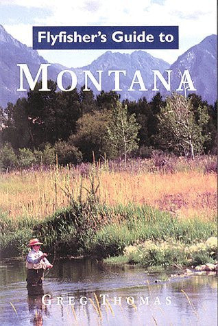 us topo - Flyfisher's Guide to Montana - Wide World Maps & MORE! - Book - Brand: Wilderness Adventures Press - Wide World Maps & MORE!