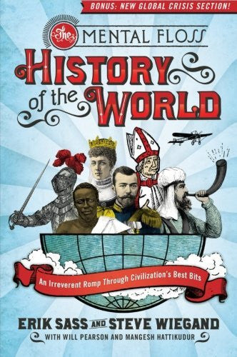 us topo - The Mental Floss History of the World: An Irreverent Romp Through Civilization's Best Bits - Wide World Maps & MORE! - Book - Sass, Erik/ Wiegand, Steve/ Mental Floss - Wide World Maps & MORE!