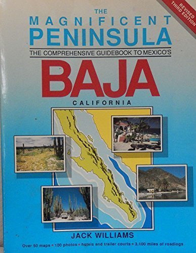 us topo - The magnificent peninsula: The comprehensive guidebook to Mexico's Baja California - Wide World Maps & MORE! - Book - Brand: H.J. Williams Publications - Wide World Maps & MORE!