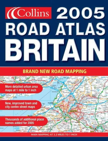 us topo - Collins Road Atlas 2005: Britain - Wide World Maps & MORE! - Book - Wide World Maps & MORE! - Wide World Maps & MORE!