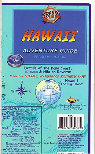 Franko's Hawaii Adventure Guide - Wide World Maps & MORE! - Book - Wide World Maps & MORE! - Wide World Maps & MORE!