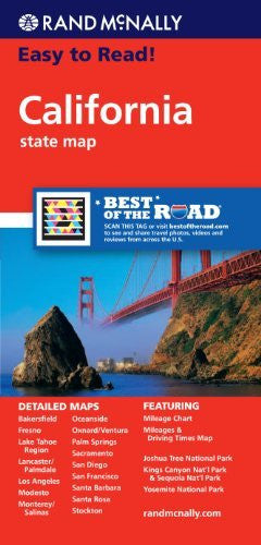 us topo - Rand McNally Easy to Read! California State Map - Wide World Maps & MORE! - Book - Rand McNally and Company (COR) - Wide World Maps & MORE!