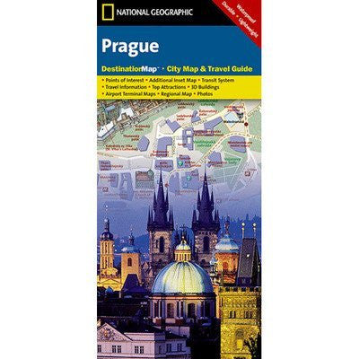Prague DestinationMap: City Map & Travel Guide
