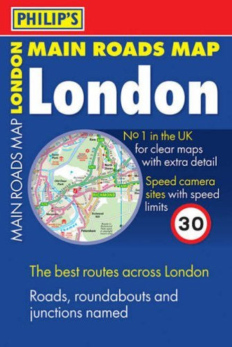 Philip's Main Roads London: Compact (Philip's Road Maps)