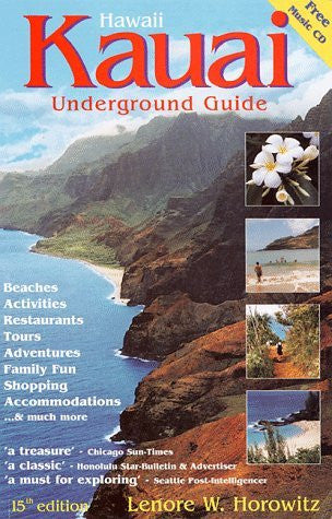 Kauai Underground Guide (Includes Free Hawaiian Music CD) - Wide World Maps & MORE! - Book - Brand: Papaloa Pr - Wide World Maps & MORE!