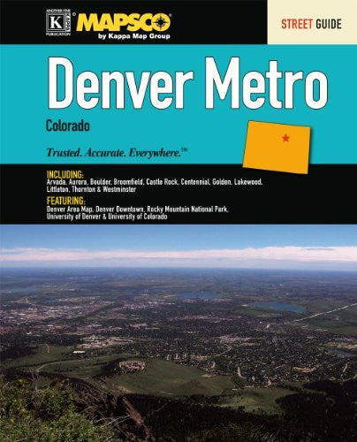 us topo - Denver, CO Metro Street Guide - Wide World Maps & MORE! - Book - Wide World Maps & MORE! - Wide World Maps & MORE!