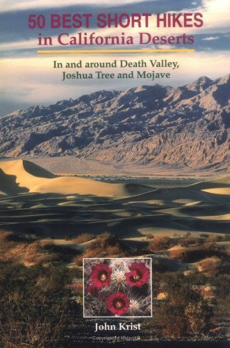 us topo - 50 Best Short Hikes in California Deserts: In and Around Death Valley, Joshua Tree, and Mojave Preserve (Hiking & Biking) - Wide World Maps & MORE! - Book - Brand: Wilderness Press - Wide World Maps & MORE!