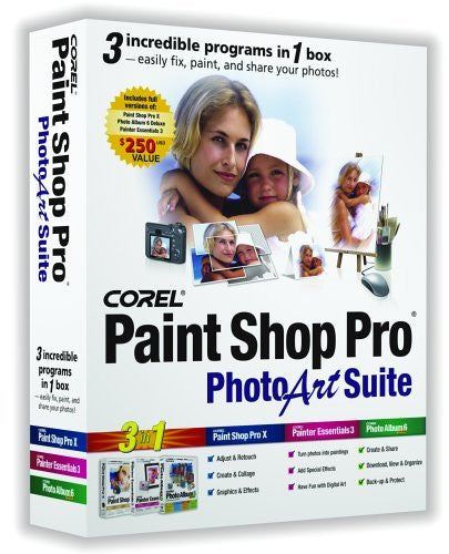 Corel Paint Shop Pro Photo Art Suite