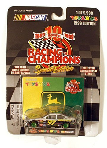 NASCAR Racing Champions 10 Years Special Edition John Deere #97 1999 1:64 Diecast Car