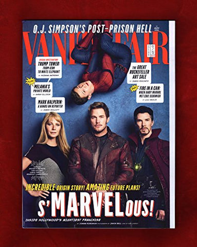 Vanity Fair Magazine (Holiday 2017/2018) Gwyneth Paltrow, Tom Holland, Chris Pratt, Benedict Cumberbatch Cover
