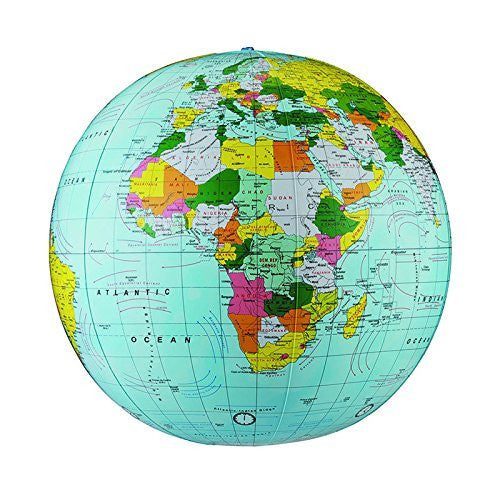 us topo - REPLOGLE GLOBES POLITICAL-INFLATE GLOBE 16 ES 16 (Set of 3) - Wide World Maps & MORE! - Home - Replogle - Wide World Maps & MORE!